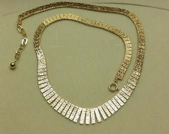 Gold chain Necklace Gold 333 60s GK154