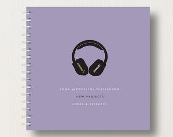 Personalised Music Lover's Book or Album
