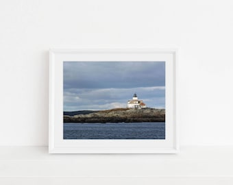 Digital Download, Digital Print, Original Photography, Wall Art, Home Decor, Printable, Nautical Print, Lighthouse, Maine, New England