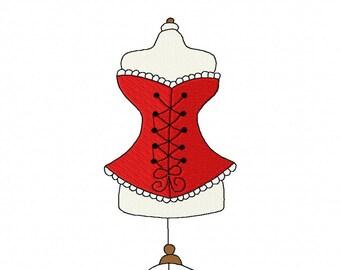Corsets 1 Machine Embroidery Designs