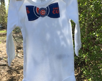 Chicago cubs Onesie, Cubs Fan Chicago,Love, Onesie, Baby