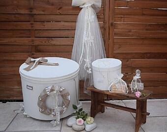 Luxury Greek Orthodox Baptismal Candle-The Butterflies Collection-Christening Lampada-Baptismal Box-Christening Oil/Spa Set