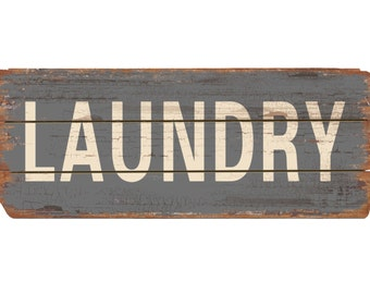 """Wood Pallet """"Laundry"""" Wood Sign"""