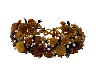 Baltic Amber Bead Bracelet