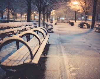 Park Snow Photography Print