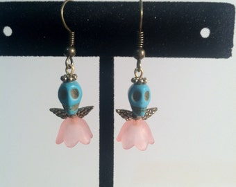 Dia de los Muertos Calaveras Earrings