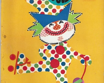 Vintage Happy Dots Coloring/Dot-to-Dot Book, 1973