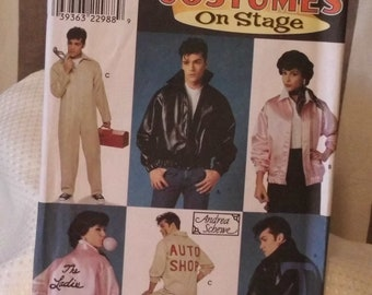 Simplicity 8745 - Costumes on stage