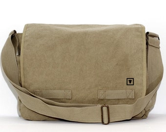 Messenger Bag, Medium Control Icon, Crossbody Large Canvas Bag, Laptop Messenger Bag, Men Messenger Bag, Women Messenger Bag, Work Bag