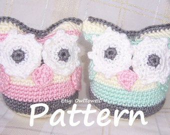 Owl Crochet Pattern , Super Easy Owl Stuffie Crochet Pattern