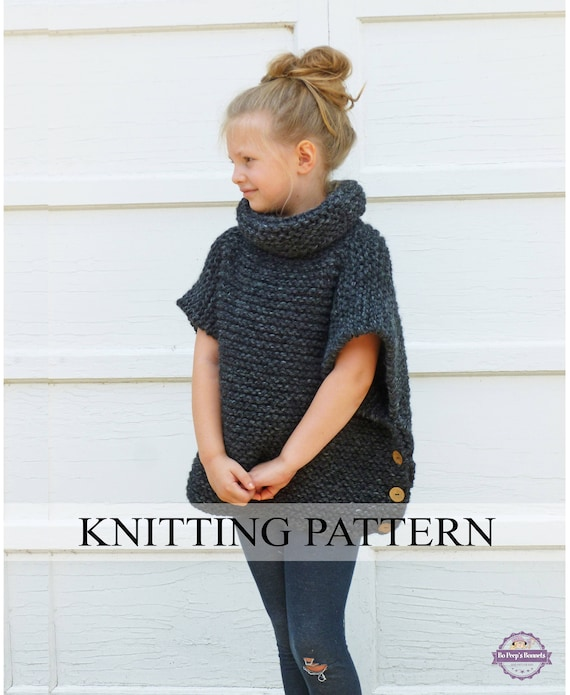 Knitting Pattern The Sophie Sweater Toddler Child Adult Sizes