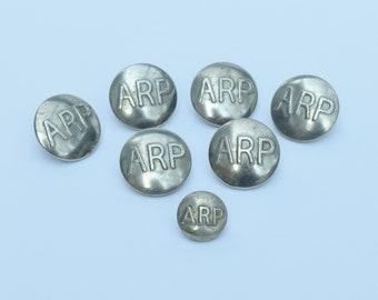 Air Raid Precaution Buttons WWII