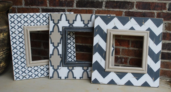 painted wood picture frames. Items Similar To 3 - 10x10 (22\ Painted Wood Picture Frames