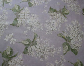 Tana lawn fabric from Liberty of London, Archive Lilac