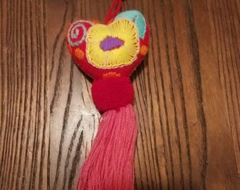 Mexican Heart Shaped Bag Accessory