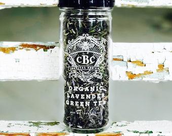 Organic Lavender Green Tea
