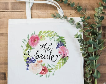 """Bride Tote Bag 