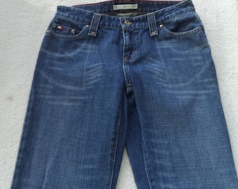 Vintage Tommy Hilfiger Low Rise Flare size 4 women's jeans  # 41