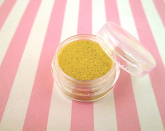 Yellow kawaii fake Faux sugar sprinkles / 8 grams,  good for fake cookies and desserts