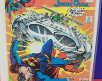 Vintage Comic Book Superman #37  Jimmy Olsen, Newsboy Legion, Guardian Good Condition 1989 DC Comic Book