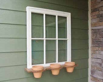 Window flower planter