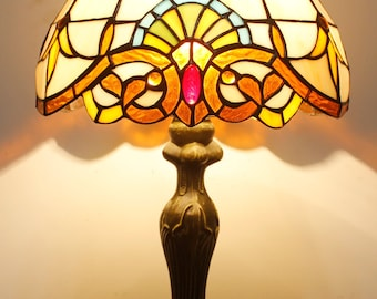 Classic Floyd Light 12inch Tiffany Style Table Lamp