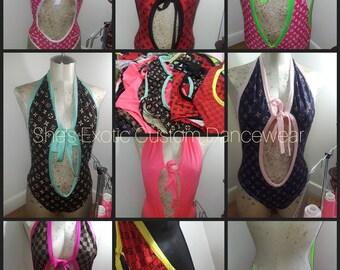 Exotic Dancewear designer  10 for 300 Desinger