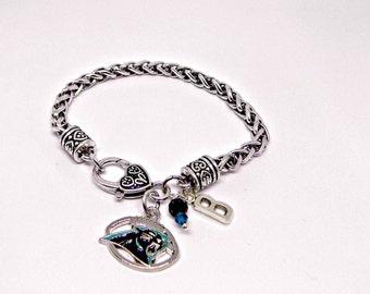 Panthers Jewelry, Carolina Panthers, Panthers Bracelet, Football Jewelry, Football Mom, Panthers Fan Wear, Panthers Football, Panthers Home