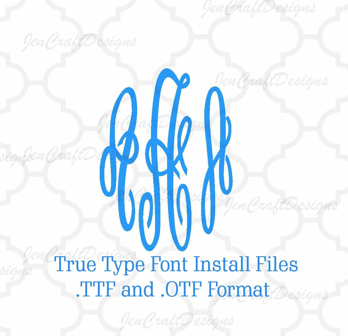 Installable master circle monogram font in true type format zoom biocorpaavc Choice Image