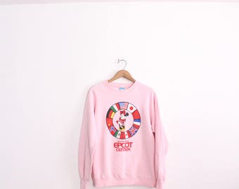 Epcot Center Minnie Mouse Sweatshirt