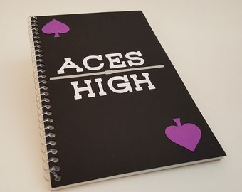 Aces High! - Lined Journal
