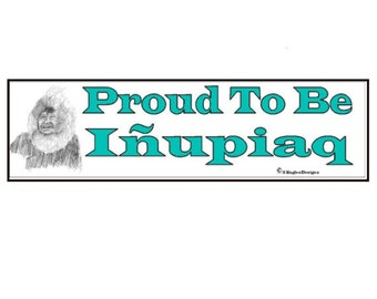 Proud to be Inupiaq