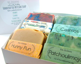 The Patchoulis Gift Soap, Soap Gift Box, Patchouli Soap Gift, Patchouli Lovers Soap, Love for Patchouli