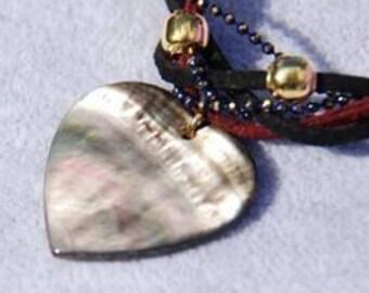 Trendy Suede Heart Bracelet