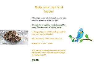 Let's Make a Bird Feeder!