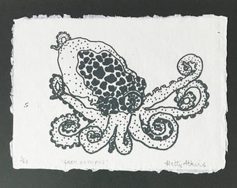 Limited edition Polypus print