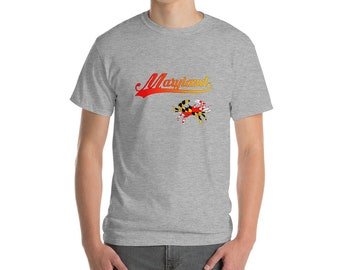 Maryland with a Crab Short-Sleeve T-Shirt