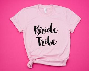 Bride Tribe Shirts, Bachelorette Shirts, Bridal Party Shirts, Bridesmaid Shirts, Brides Babes Shirt, Wedding Shirts for Bridesmaids, XS-2XL