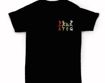 A Tribe Called Quest ATCQ  T-shirt - New York Classic old school hip hop Queens - Phife Dawg - Low End Theory Q-tip
