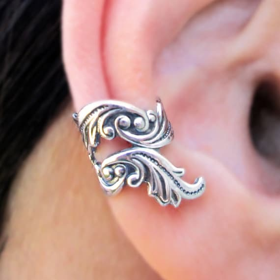 Sterling Silver Ear Cuffs y9N95Po