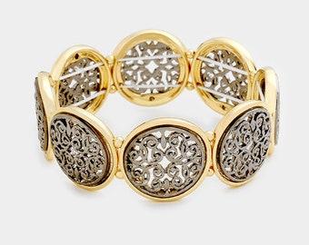 Filigree Fashion Bracelet