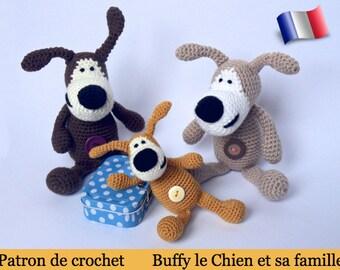 F01FRM Buffy le Chien! Patron d'amigurumi au crochet. Fichier PDF. Par Pertseva Etsy