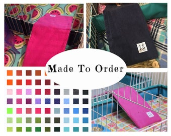 Fleece ramp cover for midwest cage | custom colors | guinea pig accessories | hedgehog cage accessories | MADE TO ORDER