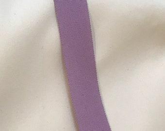 """7/8"""" wide lavender gro-grain ribbon"""