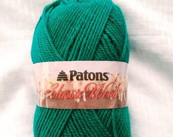Paton's 100% Wool Yarn-Emerald