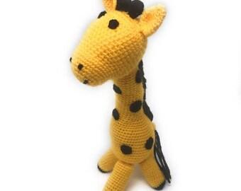 Handmade Amigurumi Giraffe Toy