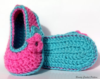 Crochet Baby Pattern Barbie Style Shoes Baby Girl Crochet Shoes Pattern, Hot Pink Crochet Shoes