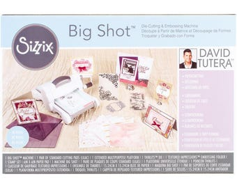 BIG SHOT - DAViD TUTERA BUNDLEs  !! **Purple Cutting Pads !!  - Great Die Cutter and Embossing Machine With EXTRAs !!