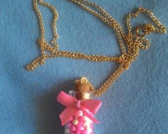 Candy Jar necklace