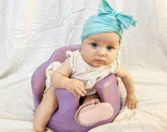 SALE sea foam blue, baby turban, baby hat